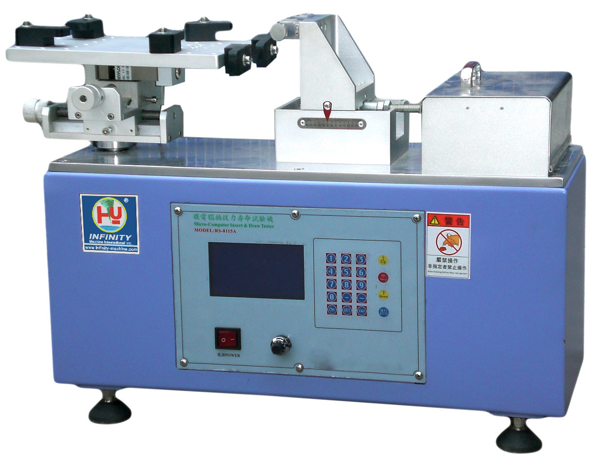 Computerized Extract Connector Test Machine 500 N for Life-time Test