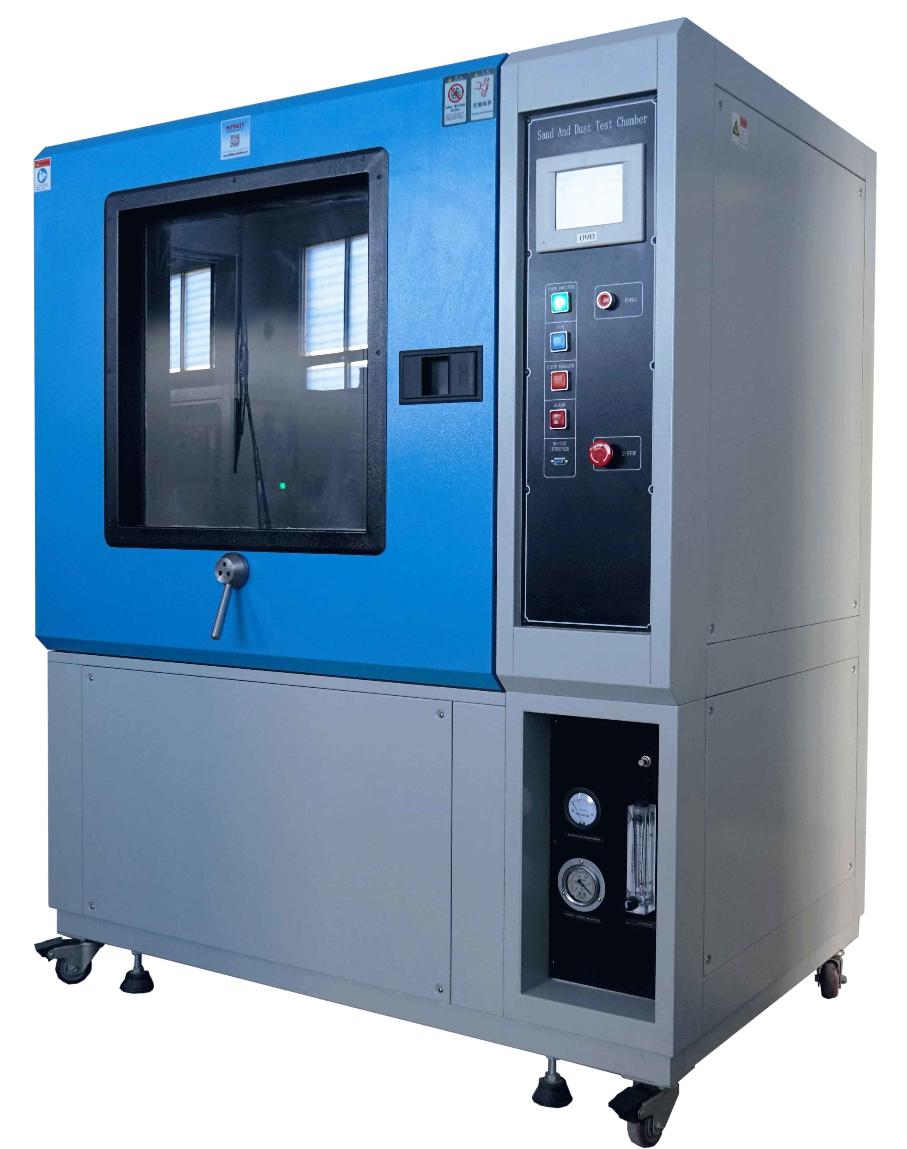 Environmental Resistance Sand And Dust Test Chamber , Dust Testing Equipment SC -1000